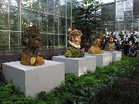 Small models of the Four Seasons sculptures.