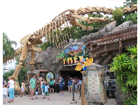 T-Rex Restaurant is very popular!