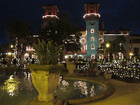 The Lightner Museum is amazing at Christmas time.