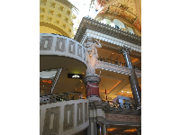 Inside the Caesar's Forum Shops- am I in Rome?
