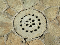 Even the drains are beautiful!