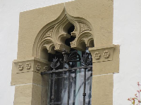 Moorish window.