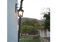 Ojai Valley Inn in the evening.