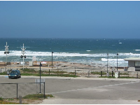 Surf Beach- a deserted spot when I was there. Home to an Amtrak railroad depot.