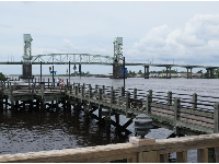 Bridge over the Cape Fear River.