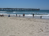 Summer day at Port Hueneme Beach.