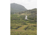 The drive, between Sandy Beach and the Makapuu Lighthouse Walk.