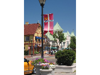 A gorgeous assortment of colors in Solvang.