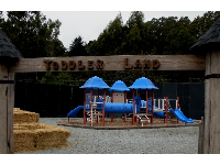 Toddler land playground, at Arata Pumpkin Farm.