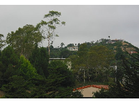 Views of Santa Barbara Heights from the bridge.