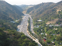 The 405 is so much nicer from above!