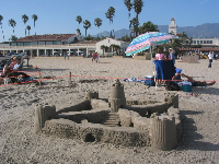 A Sandcastle Festival entry.