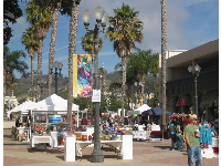Colony Plaza, a great spot to pick up a colorful scarf or necklace.