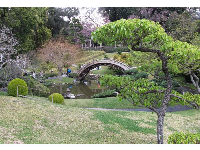 The many layers of the Japanese Garden.