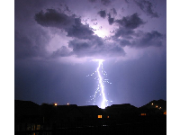 July lightning storm- see the power!