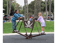 Pirate see saw.