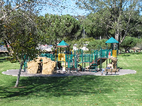 The newer playground, near Goodwin Rd.
