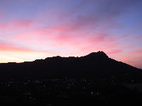 Diamond Head, you are beautiful! Sunrise...