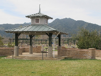 Gazebo at River View Park.
