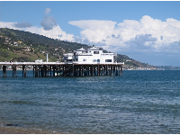 And I love the view of Malibu pier.