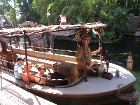 Jungle Cruise in Adventureland.