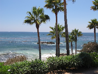 Heisler Park, where you can walk on cliffs above the sea after you eat.