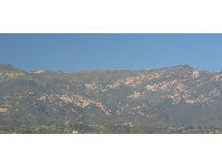 La Cumbre Peak stands 4,000 feet tall!