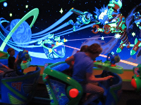 Buzz Lightyear ride- a good one!
