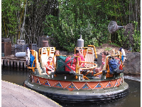 Kali River Rapids ride.