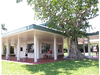 The information building at the Anhinga Trail.