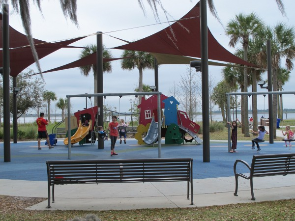 Kissimmee Lakefront Park View