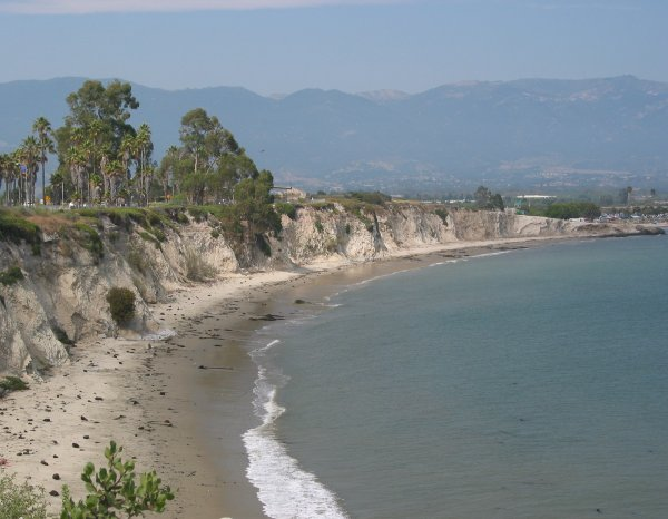 ucsb campus lagoon and beach