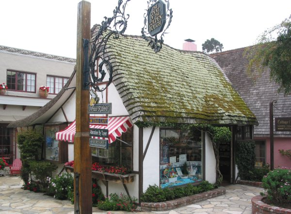Del Monte Shopping Center >> Downtown Carmel-By-The-Sea