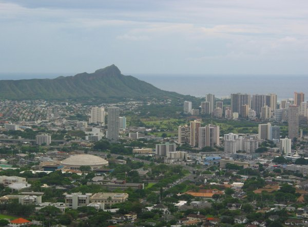 Tantalus Lookout, Oahu Hawaii