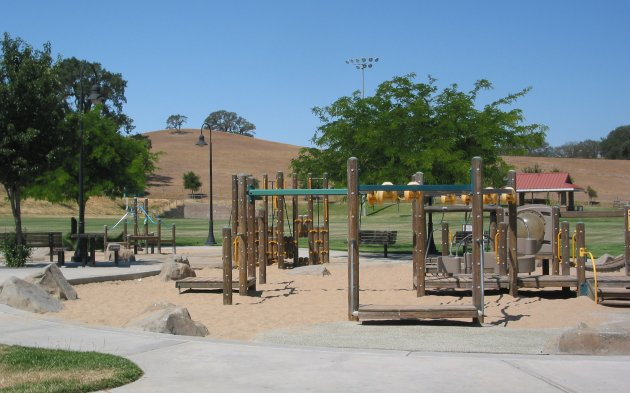 Barney Schwartz Lower Playground, San Luis Obispo California