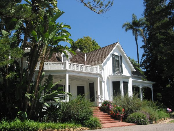 Stow House, Goleta, Santa Barbara California
