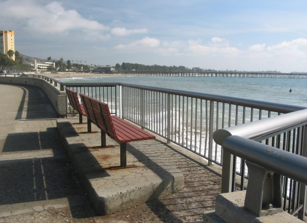 A great place to sit and listen to the waves. You also might get splashed by one!