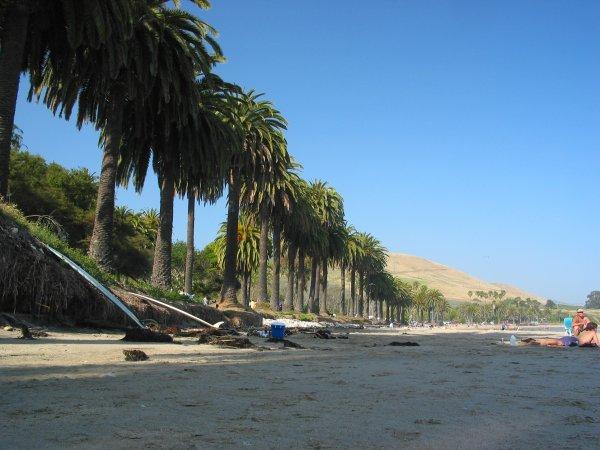 Refugio Beach, Santa Barbara California