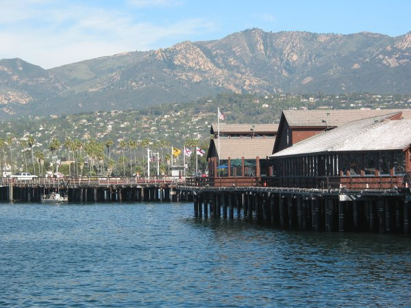 Stearns Wharf, The Pier, Santa Barbara California
