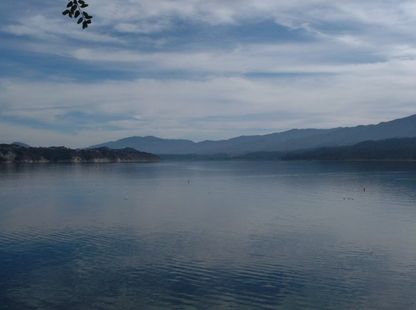 Peaceful Lake Cachuma.