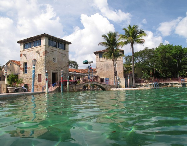 Venetian pool coral gables fun maps for Pool show coral gables