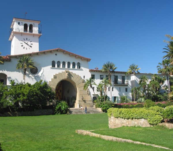 Santa Barbara Courthouse, Santa Barbara California