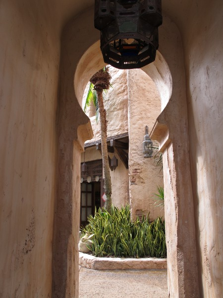 Archway in Morocco.