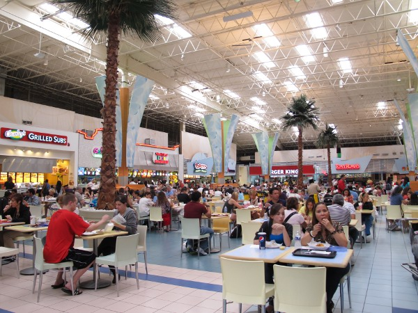 Sawgrass Mills Mall Food Court Restaurants