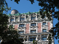 A historical building on Central Park West.