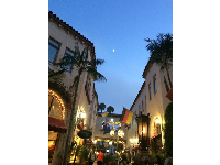 La Arcada looking pretty in the evening. Photo by Giovanna Anghera.
