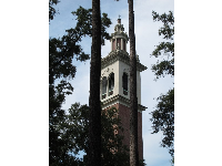 The bell tower with carillon.