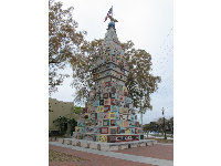 The monument on Monument Ave.