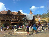 Gaston's Tavern, in the new fantasyland.