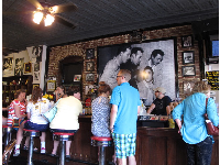 Sit at the counter and have a malt! And see the classic photo of the Elvis, Jerry Lee Lewis, and others together at Sun Studio.
